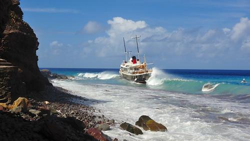 Run ashore
