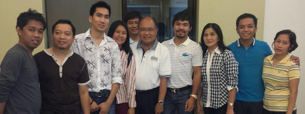 Farewell Dinner with Congressman Pacquiao - 22 February 2014