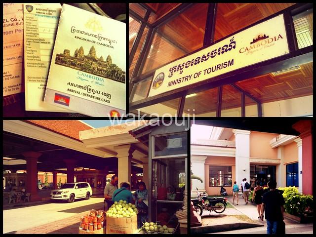 Cambodia's Immigration Building
