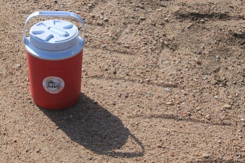 Oh sweet, sweet water jug. How I love you.