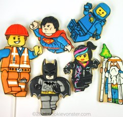 LEGO Movie custom cookies
