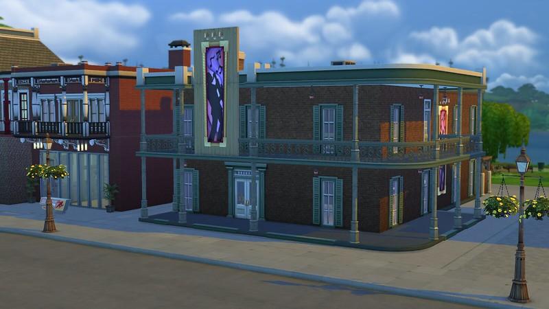 Les Sims 4 Boîte de nuit