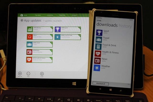 MSN apps on Windows