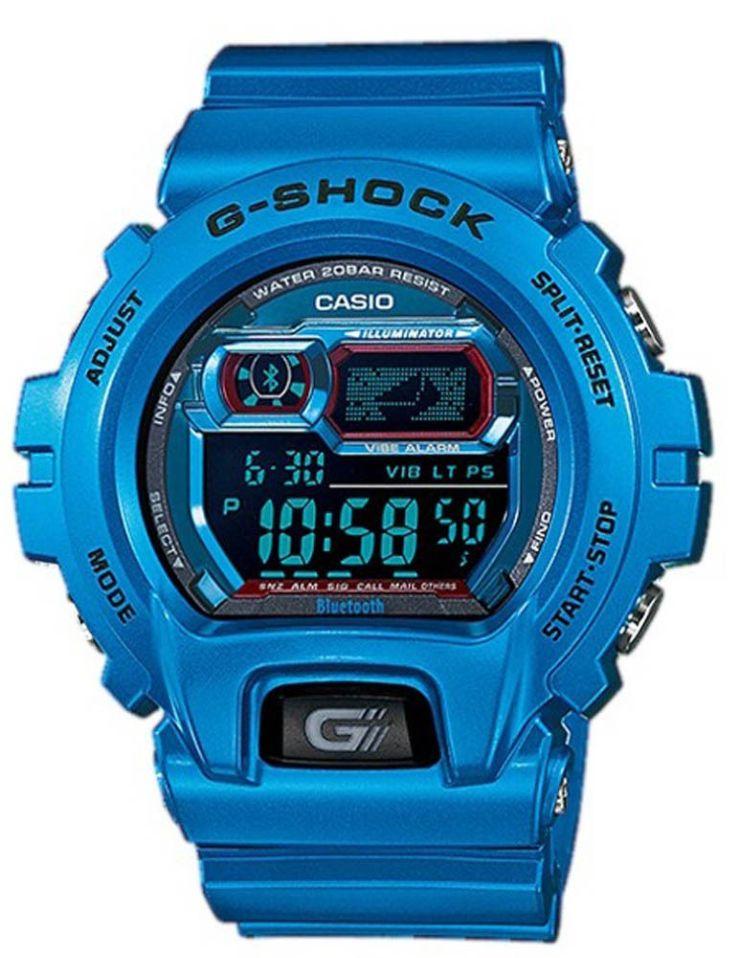 blue G-shock