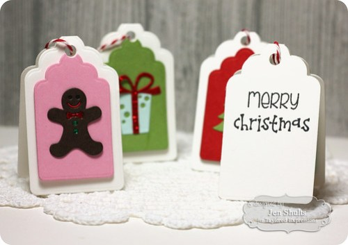 Christmas package tags