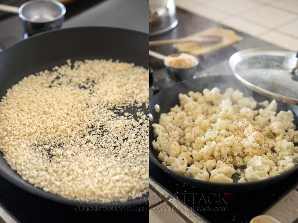 Panko Crumbs and Cauliflower