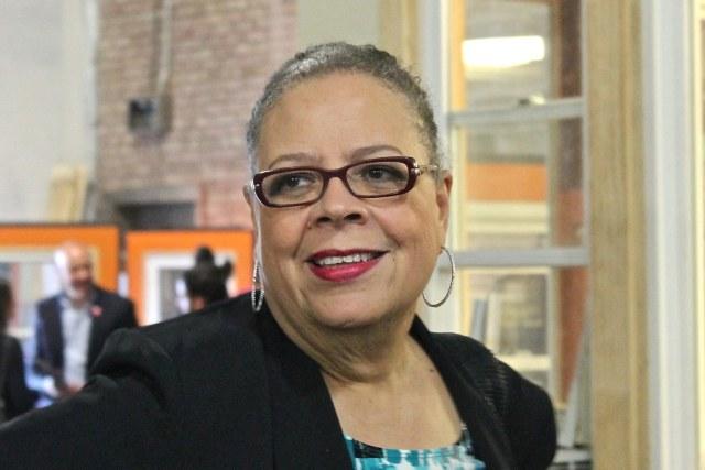 Karen Lewis held a community conversation