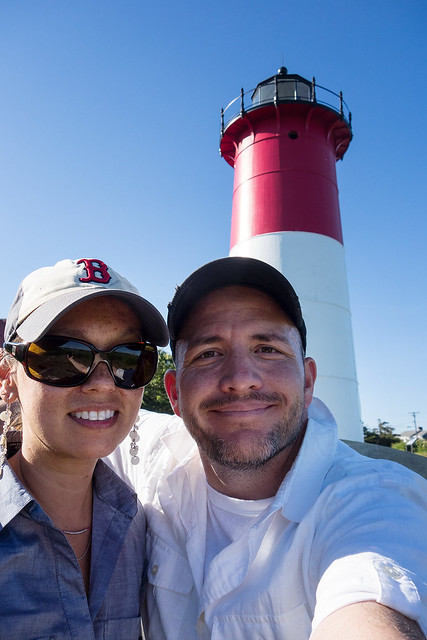 Selfie at Nauset Light.