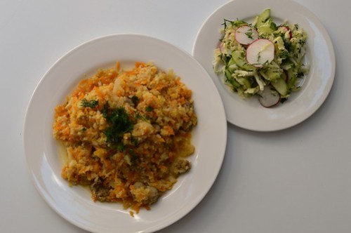 Cauliflower plov
