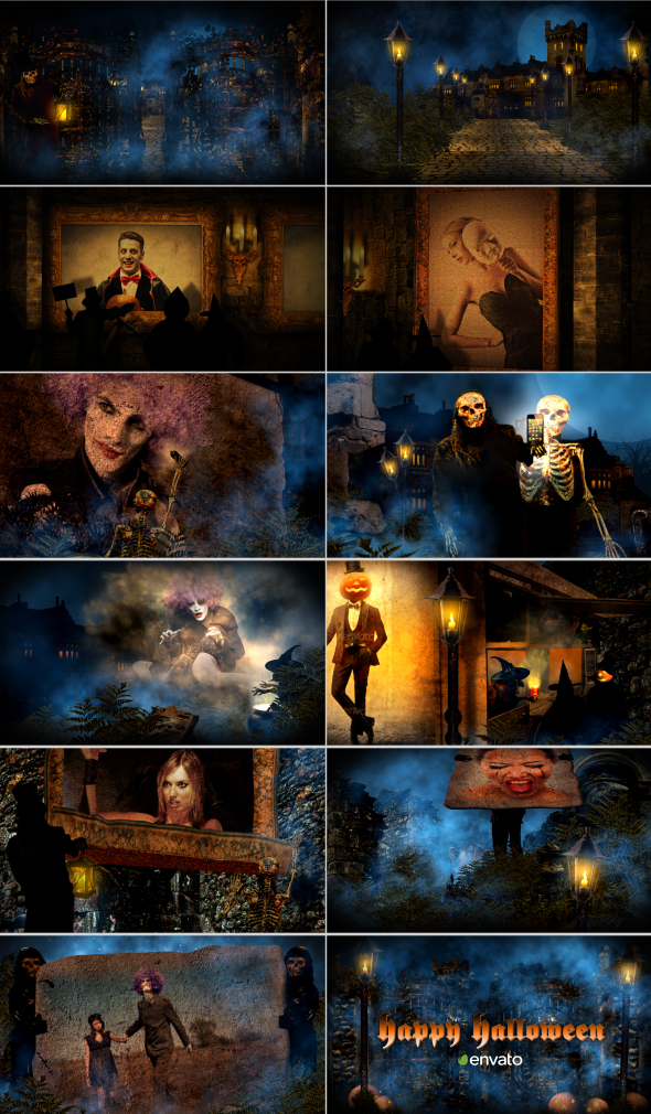 HALLOWEEN (VIDEOHIVE PROJECT) - (DIRECT DOWNLOAD LINK