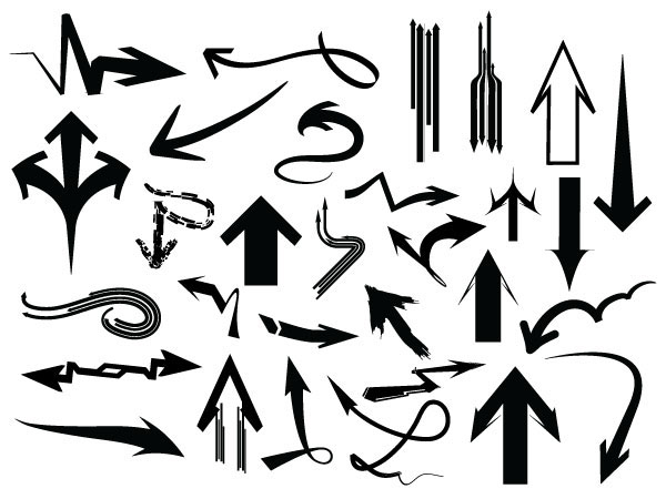 Arrows Pack – 182 Vectors + 182 Brushes
