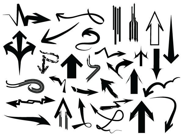 Arrows Pack – 182 Vectors + 182 Brushes