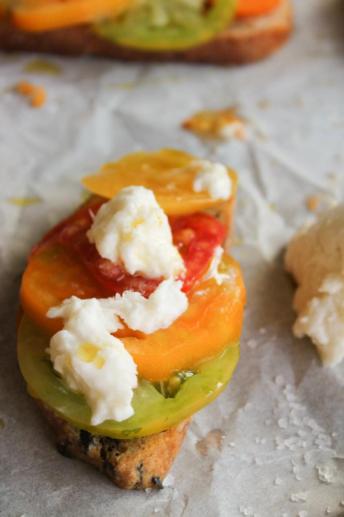 Bruschetta tomate recette