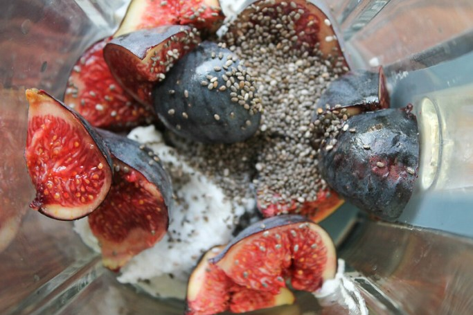 smoothie figues