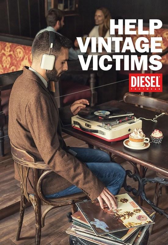 Diesel - Help Vintage Victims