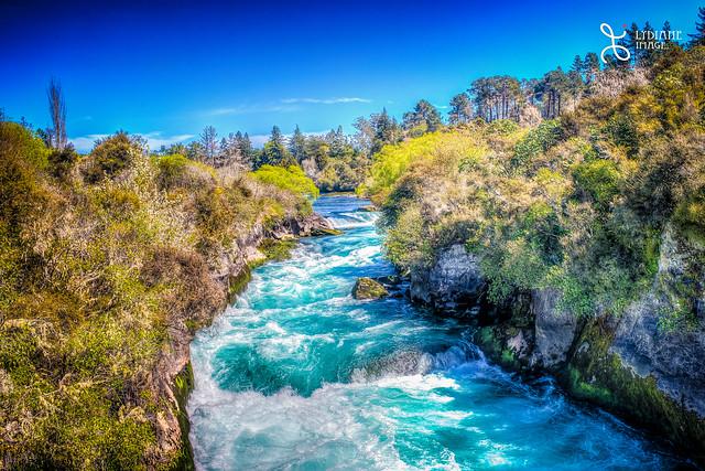 Huka Falls in Rotorua