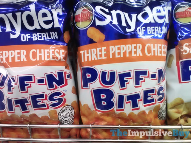 Snyder of Berlin Three Pepper Cheese Puff-n-Bites