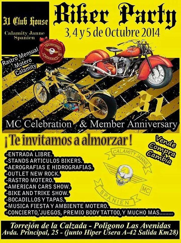Biker Party Calamity Janne (Torrejón de la Calzada)