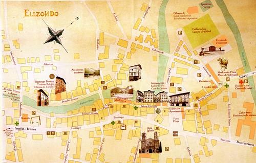 Mapa Elizondo