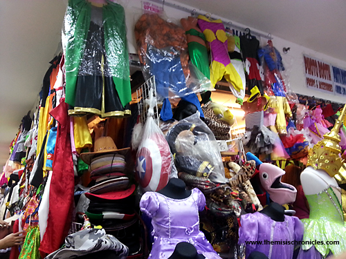 costumes in 168 mall