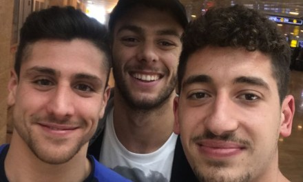 Diario di bordo vasca: Greg, Andrea e Mario… destinazione Eilat, Coppa LEN 10 km