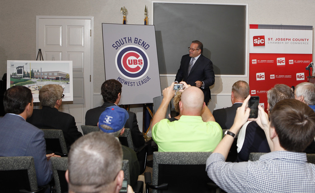 Owner Andrew Berlin - South Bend Cubs Press Conference