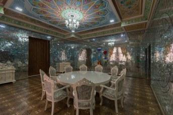 Onze laatste uitje in Doesjanbe, het Navruz Paleis.