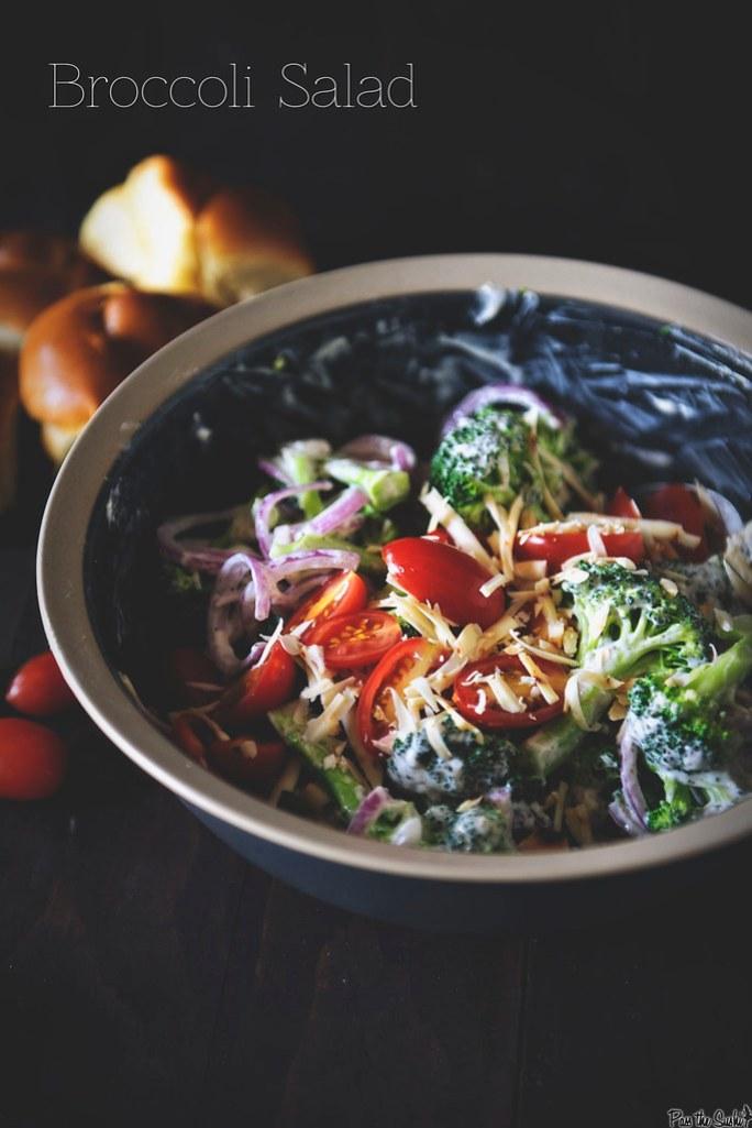 Broccoli Salad {Pass the Sushi}