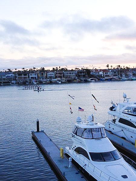 View from Balboa Bay Resort