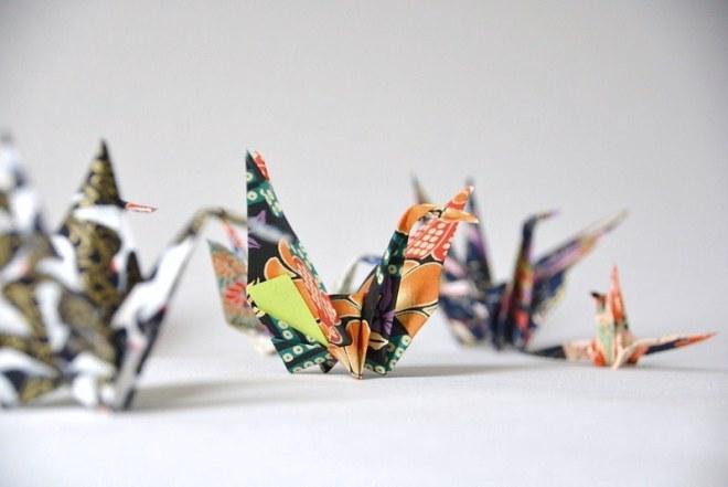 Origami Kranich (7)
