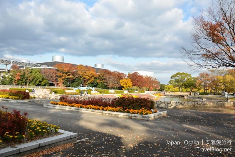 大阪赏枫 万博纪念公园 27