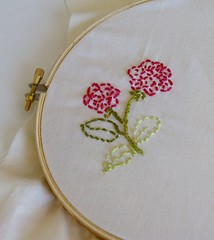 My first embroidery project