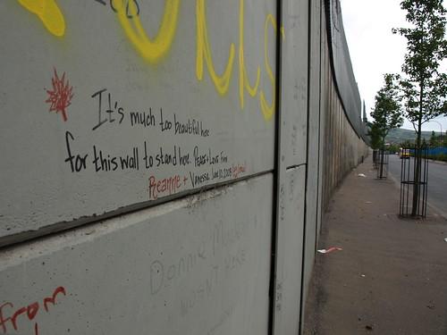 The Peace Wall, Belfast