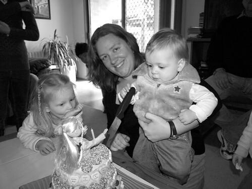 Matilda Cutting her cake