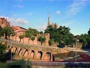 Antoni Gaudi. Viaducto de Bellesguardg.