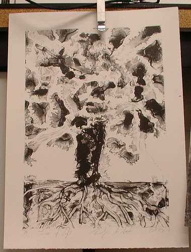 litho-graph tree of life