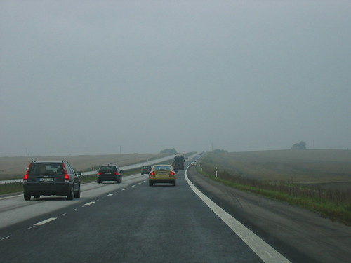 Autumn fog in Skåne