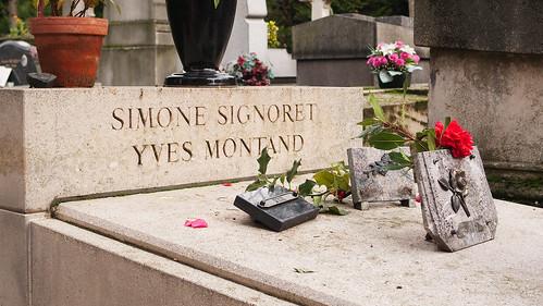 Simone Signoret - actriz e Yves Montand - actor