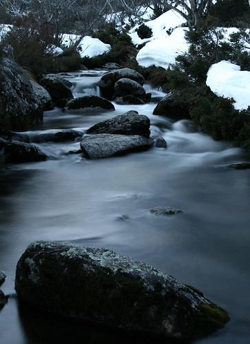 Icy cold river, Kosciusko National Park.