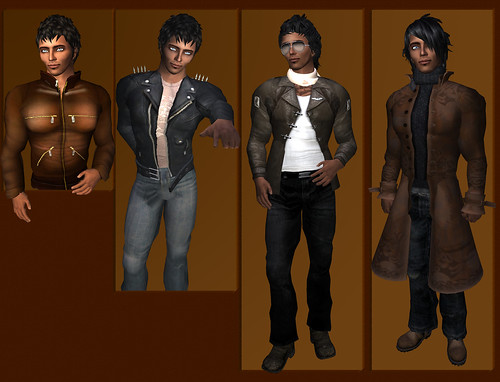 Leathers Collage