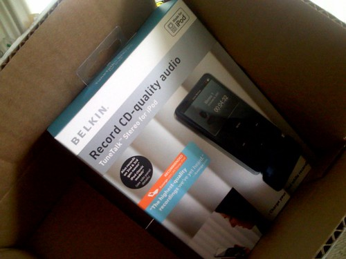 Belkin Goodies Arrived Today! - Photo by: Rebecca Bollwitt