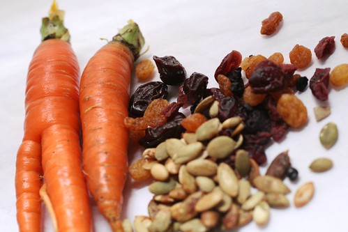 carrots and cranberries