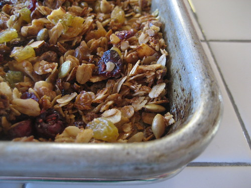 granola for fall