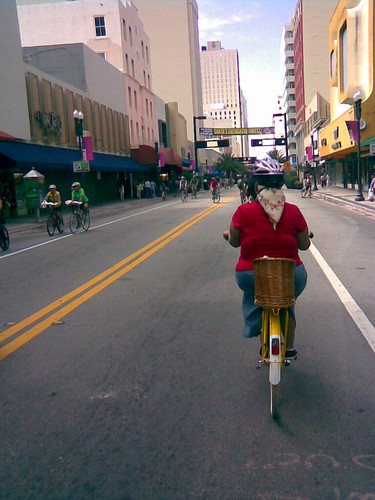 Riding in Downtown