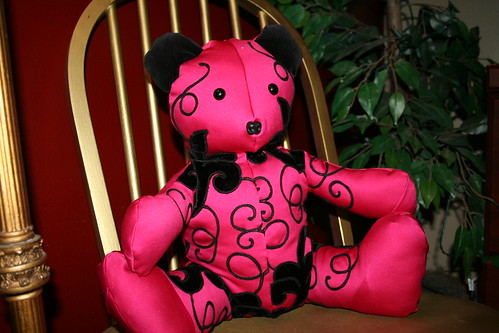 Hot Pink Bear 1 by you.