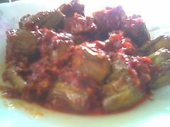 Bandong's sambal brinjal