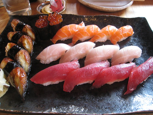 Sushi at Ozuma, San Francisco