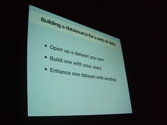 Building a datasource for a web of data