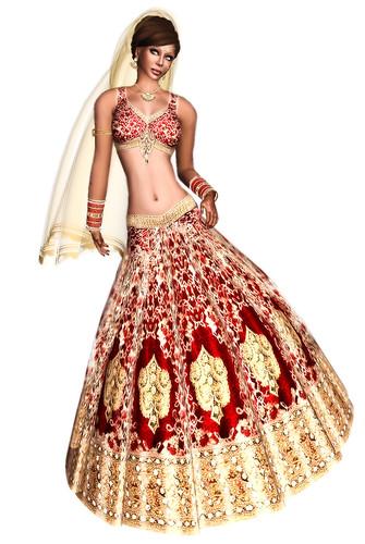 Indian bridal by Zaara Kohime
