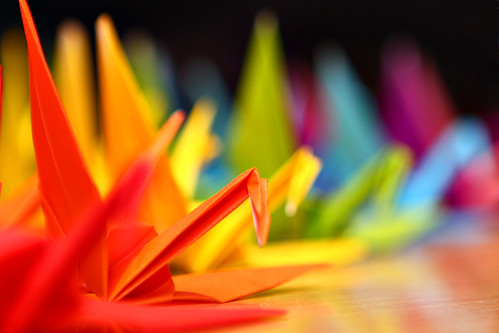 Colourful Cranes by blentley